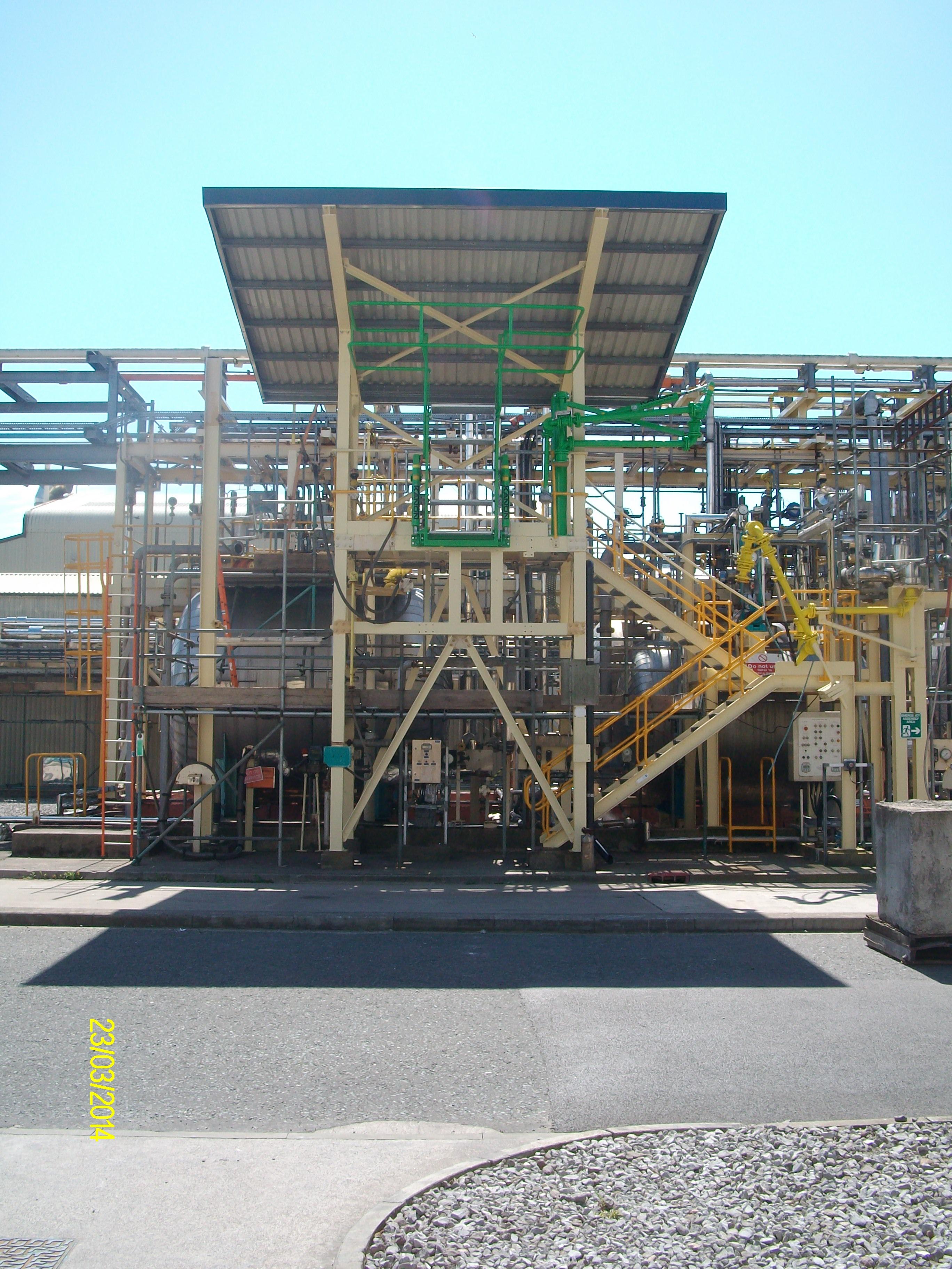 Completed Platform
