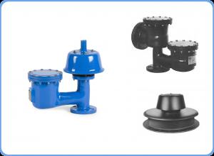 Fibreglass Pressure vacuum relief valves