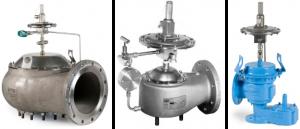 Pilot operated pressure vacuum relief valves