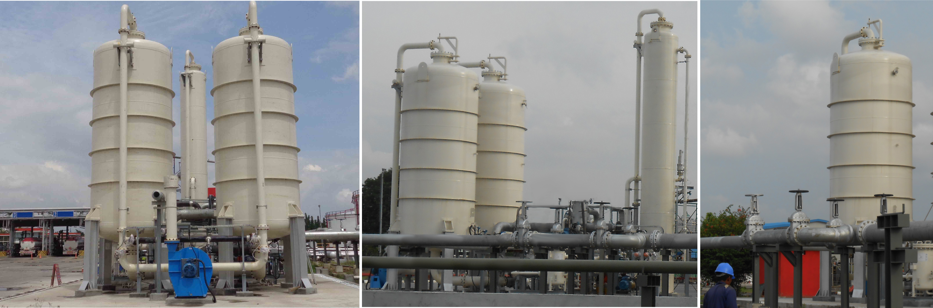 Vapour Recovery UK Refineries and oil distribution terminals