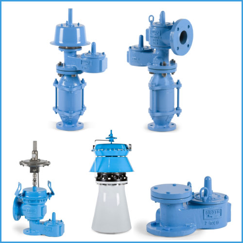Breather Valve Requirements Normal Venting Selection