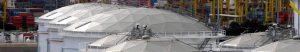 storage tanks Geodesic Domes vapour voc emission contorl