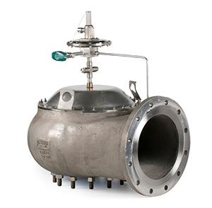Pilot operated pressure relief valves