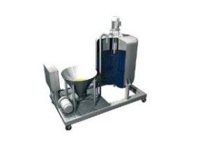 Powder dissolving equipment Agitators-Mixers various liquid viscosities 2