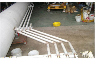 Roller Floating Suction Line