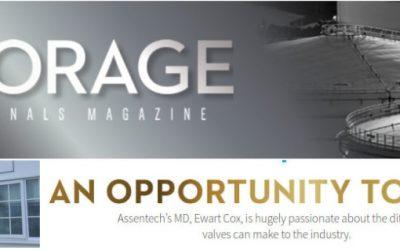 Ewart Cox, AN OPPORTUNITY TO VENT #Storage Terminals Magazine